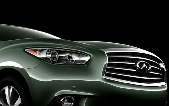 Infiniti JX Concept: A more tapered lighthouse