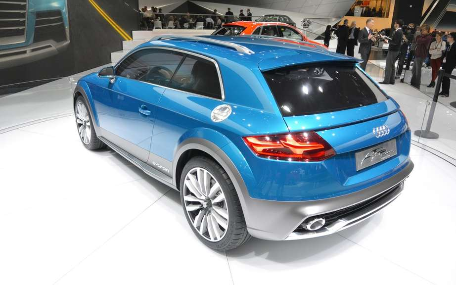 Audi TT Allroad in preparation? picture #5