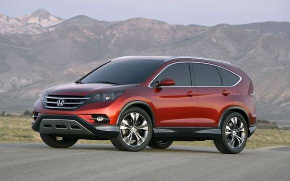 Honda CR-V Concept: Very close to the model to come