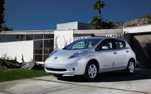 2012 Nissan LEAF: The reservation process is snaps