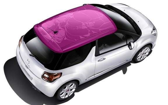 Citroen DS3 2011: The festival in its 100 000th color control