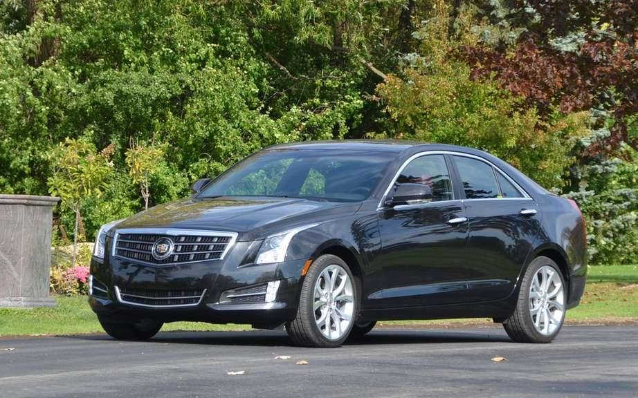 Cadillac ATS elongated for Chinese market picture #2