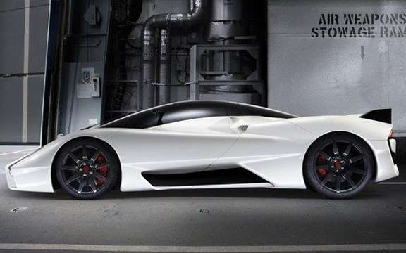 Shelby SuperCars SSC Tuatara: What venom picture #3