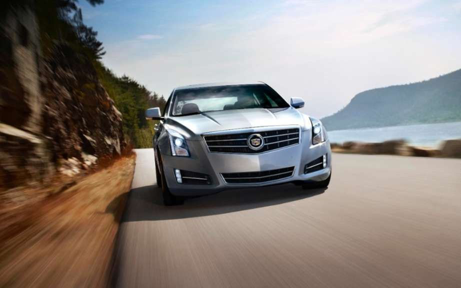 Cadillac ATS elongated for Chinese market picture #4