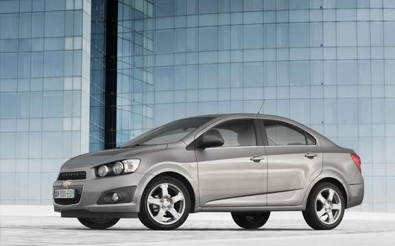 European Chevrolet Aveo: To get an idea of ​​the American Sonic