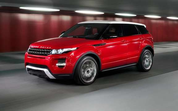 Jaguar Land Rover Canada Announces Pricing on 2012 Range Rover Evoque