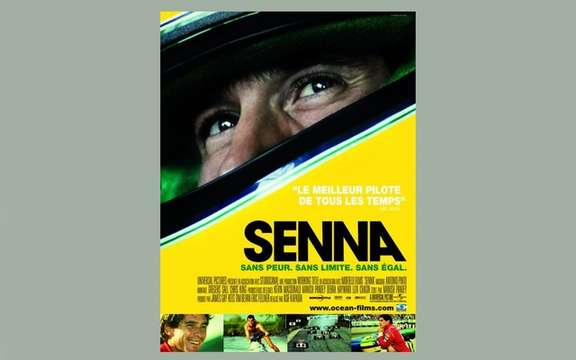 Senna: A poster of 19 August next ...