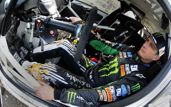No F1 Gymkhana with Ken Block