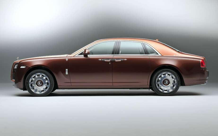 Rolls Royce-Ghost version 1001 Nights Edition picture #7