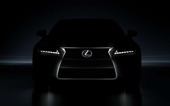 Lexus will unveil its new luxury sports sedan Lexus GS Pebble Beach