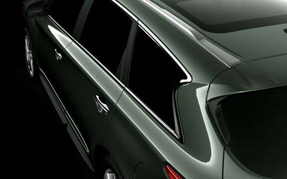 Infiniti JX Concept: It discovers its snout picture #1