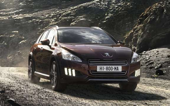 Peugeot 508 RXH diesel hybrid: The manufacturer continues its upmarket