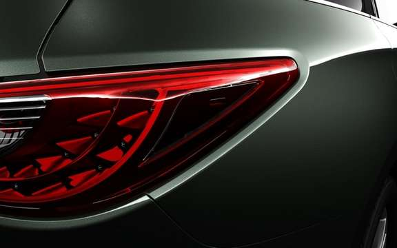Infiniti JX Concept: It discovers its snout picture #4