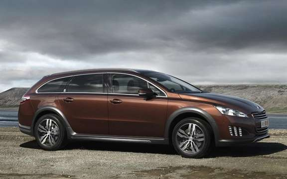 Peugeot 508 RXH diesel hybrid: The manufacturer continues its upmarket picture #2