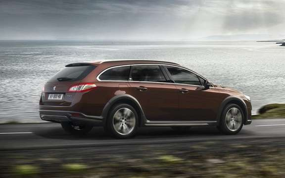 Peugeot 508 RXH diesel hybrid: The manufacturer continues its upmarket picture #3