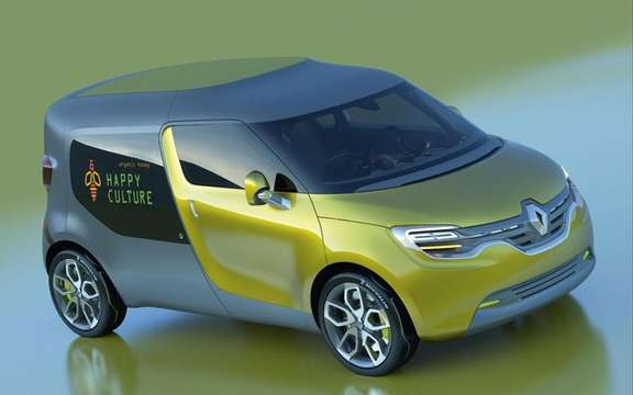 Renault Frendzy Concept: Family and utility