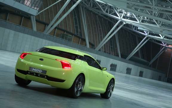 Kia conceptual cut: A high-performance sports section picture #2