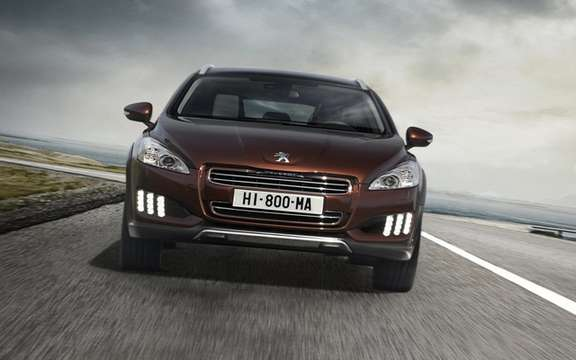 Peugeot 508 RXH diesel hybrid: The manufacturer continues its upmarket picture #4