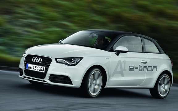 Audi A1 e-tron: Rally Champion