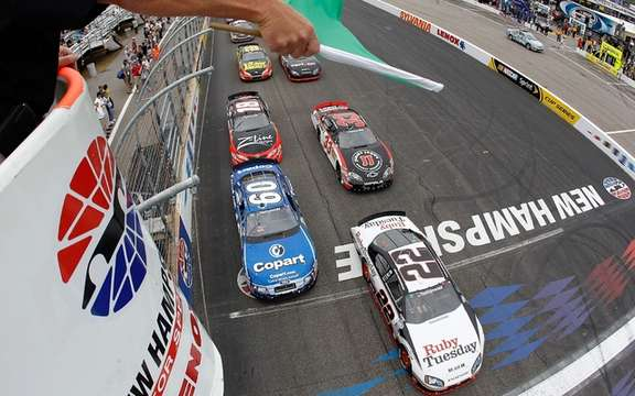 Gordon, Montoya and other stars of NASCAR few hours of Quebec!