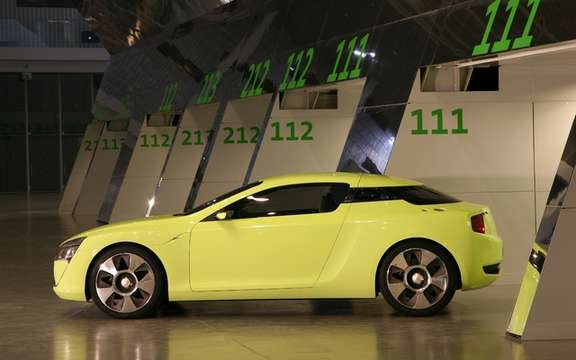 Kia conceptual cut: A high-performance sports section picture #3