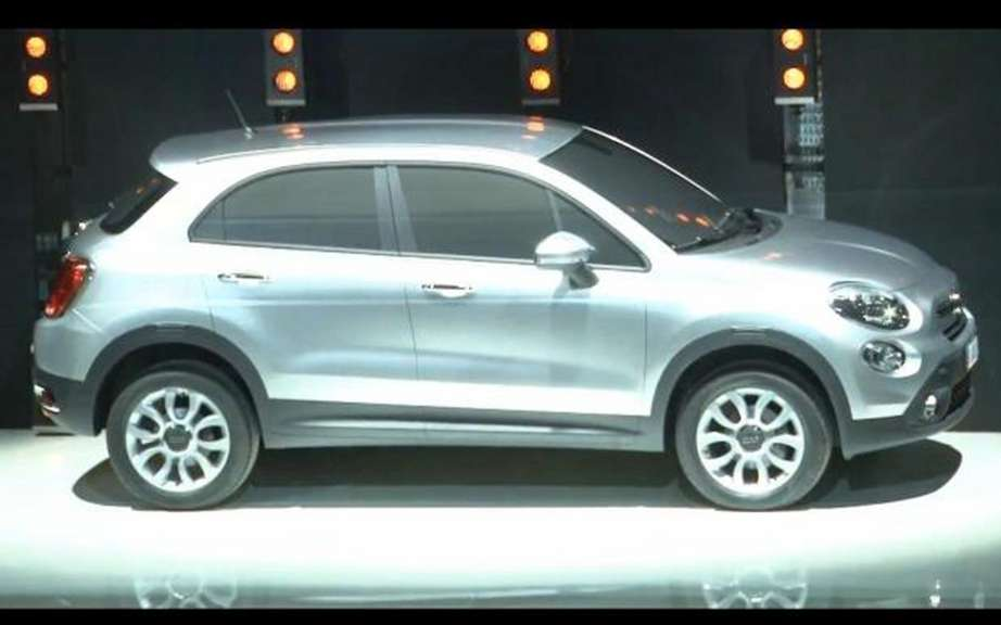 Fiat 500X: First the sketches picture #4