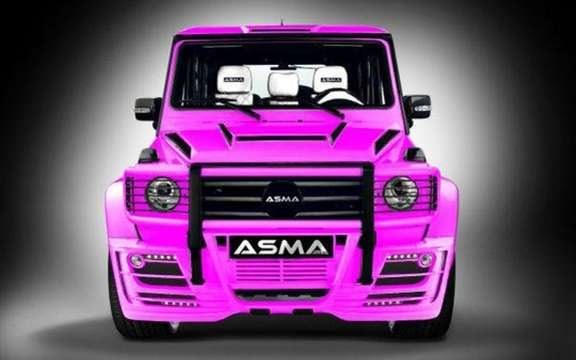 ASMA General G-Wagen: The other Mercedes G Class