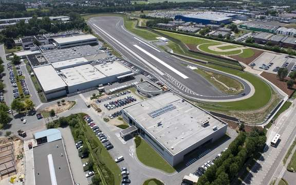Toyota unveils its circuit tests Zaventem