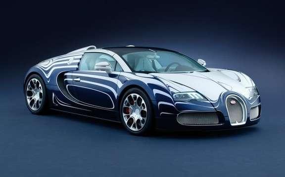 bugatti veyron 16 4 grand sport white gold porcelain included. Black Bedroom Furniture Sets. Home Design Ideas