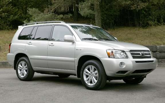 Toyota Highlander Hybrid and Lexus RX 400h 2006 and 2007 RECALLED