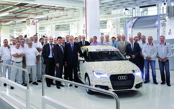 Audi A1: Deja 100,000 units produced
