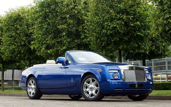 Rolls Royce Phantom Drophead Coupe: Fine jewelry edge