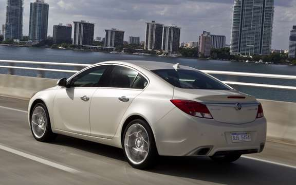 2012 Buick Regal GS: 270 hp supercharged engine
