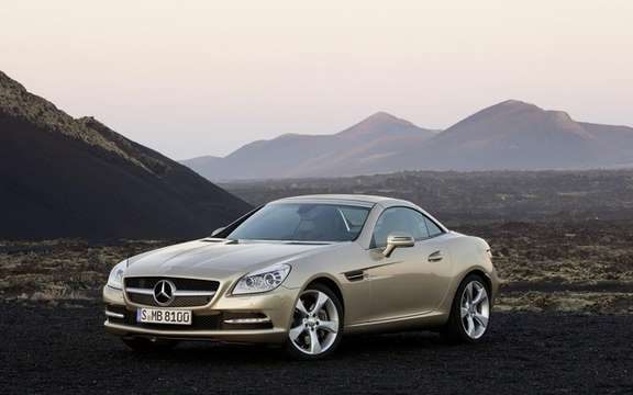 Mercedes-Benz SLK 2012: The bar is always higher