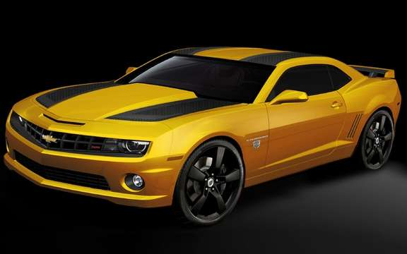 Chevrolet unveiled its Camaro
