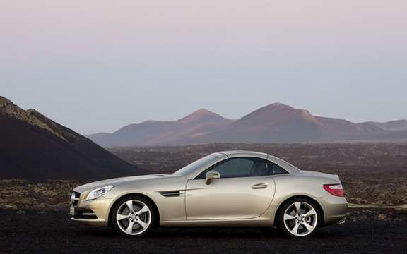 Mercedes-Benz SLK 2012: The bar is always higher picture #2