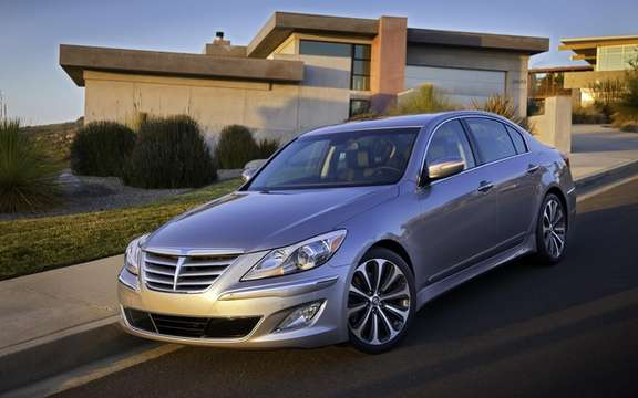 Hyundai Genesis 2012: Two new GDI engines