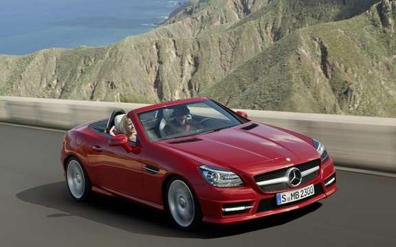 Mercedes-Benz SLK 2012: The bar is always higher picture #3