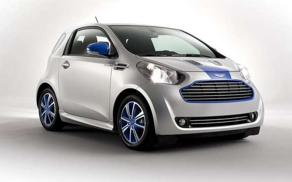 "Aston Martin Cygnet: An edition ""Cygnet & Colette"" picture #2"