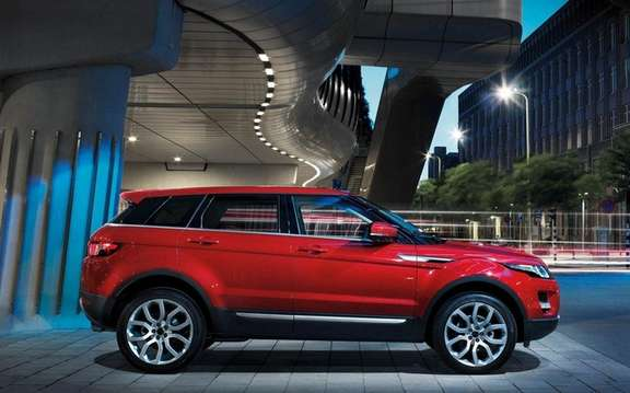 Range Rover Evoque: A version 7 places