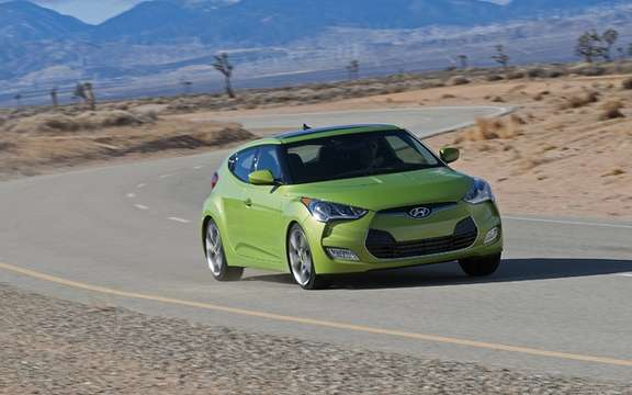 Hyundai Veloster Turbo: From 136 to 210 hp