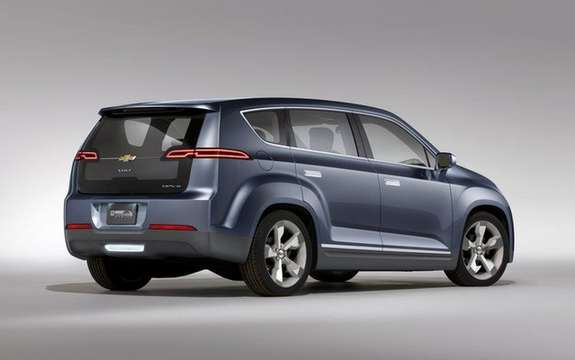 Chevrolet Volt MPV5: From sedans to crossover picture #2