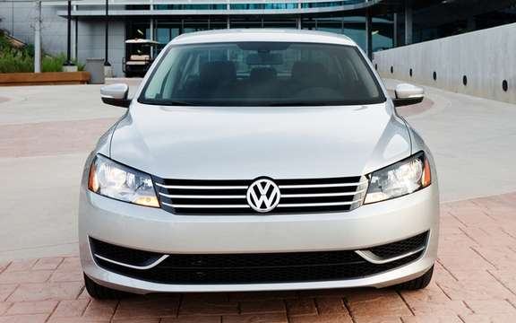Volkswagen Passat CC 2012: The new muzzle