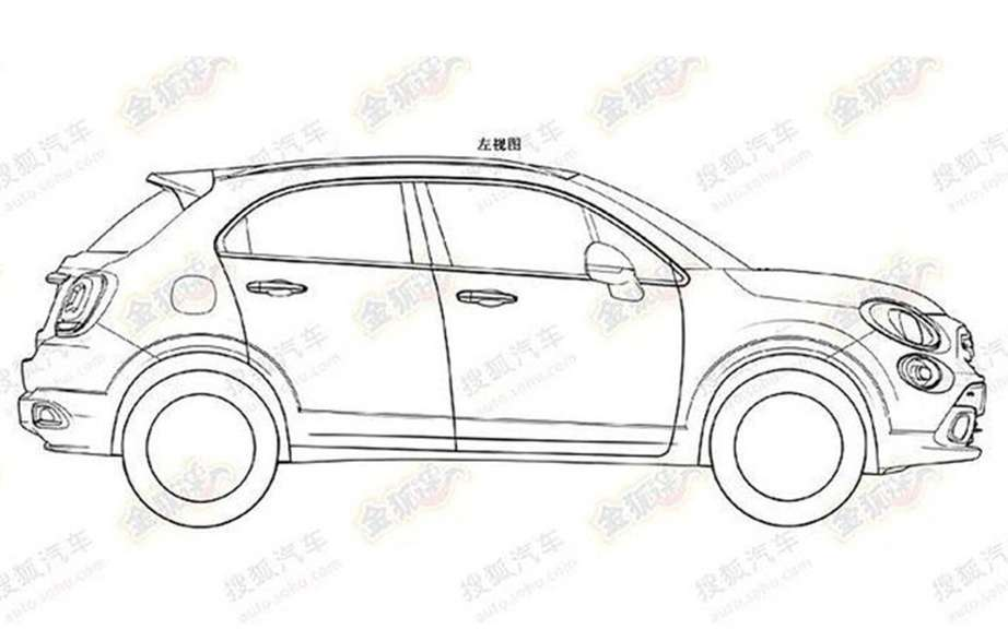 Fiat 500X: First the sketches picture #6