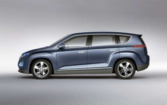 Chevrolet Volt MPV5: From sedans to crossover picture #3