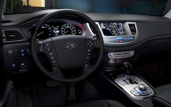 Hyundai Genesis 2012: Two new GDI engines picture #8