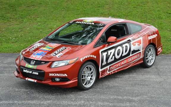 2012 Honda Civic Si: Car safety of the IZOD IndyCar Series