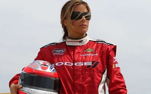 Maryeve Dufault, the first Canadian NASCAR Nationwide