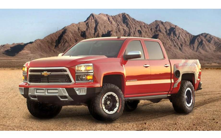 Chevrolet Silverado Reaper to face the F-150 SVT Raptor picture #4