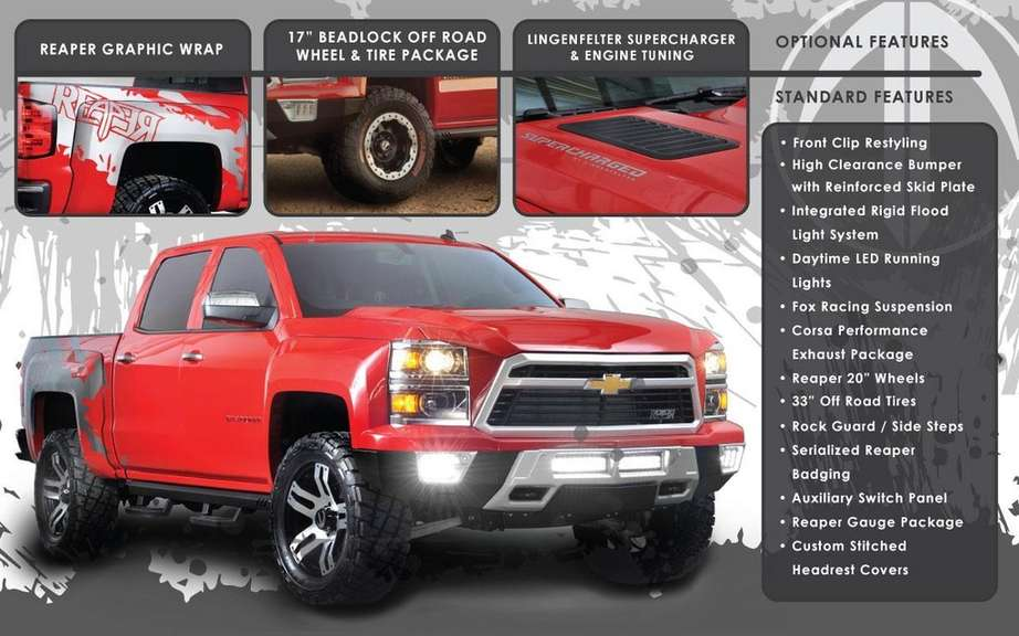 Chevrolet Silverado Reaper to face the F-150 SVT Raptor picture #5